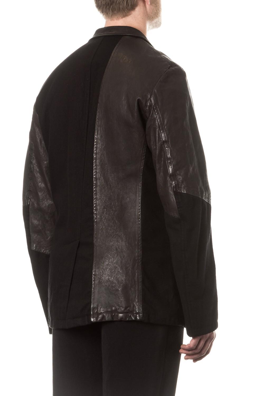 yohji yamamoto herren blazer avantgarde schwarz luxuryloft. Black Bedroom Furniture Sets. Home Design Ideas