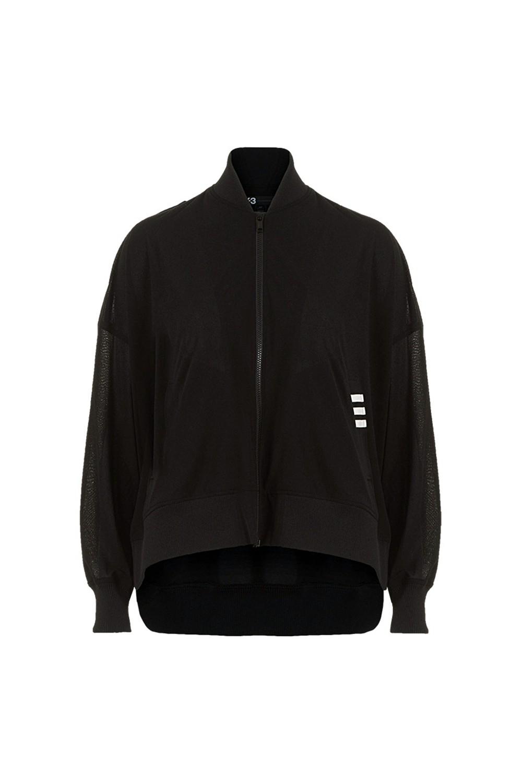 Y-3 Damen Blouson Jacke schwarz | LuxuryLoft