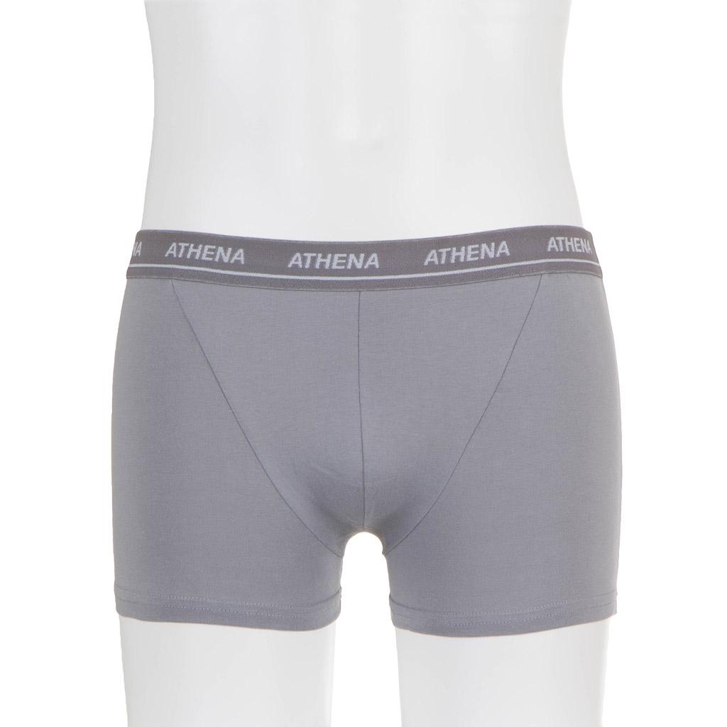 ATHENA Herren Boxershorts grau Gr. XL