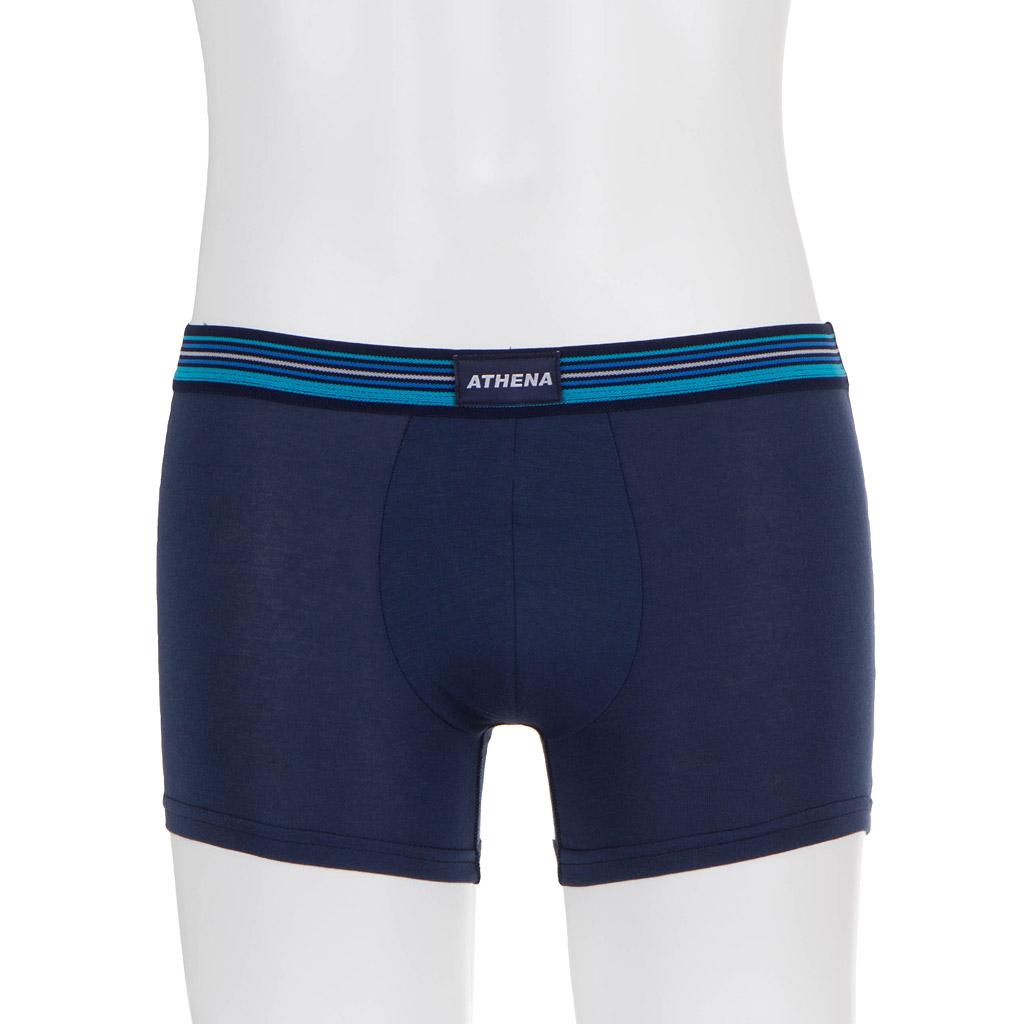 ATHENA Herren Boxershorts blau