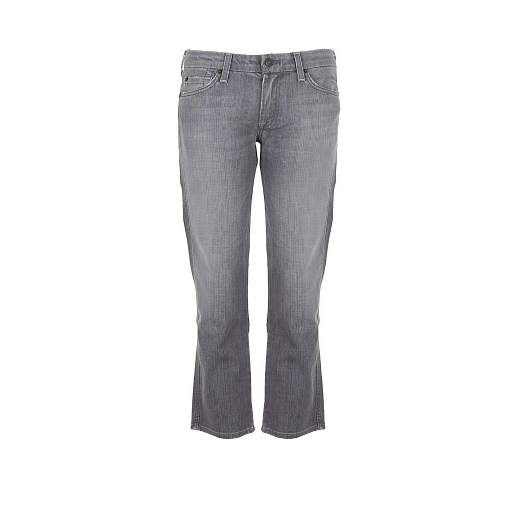 Hosen - 7 for all mankind Damen Jeans CROP CAROL grau  - Onlineshop Luxury Loft
