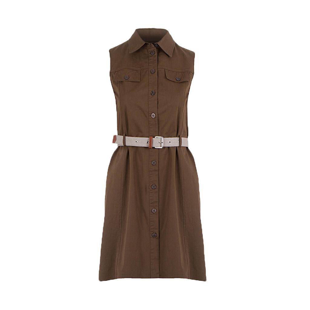 Patrizia Pepe Damen Kleid braun