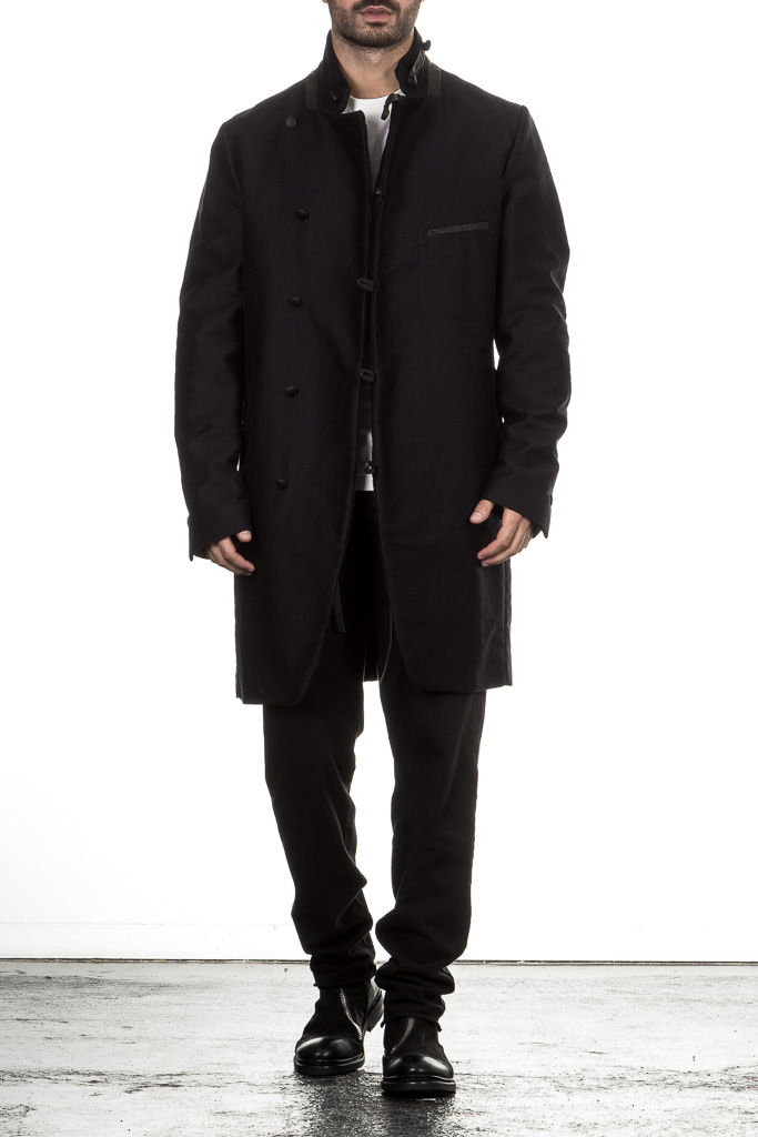 Hannes Roether Mantel TAUBER 703 Military Look ...