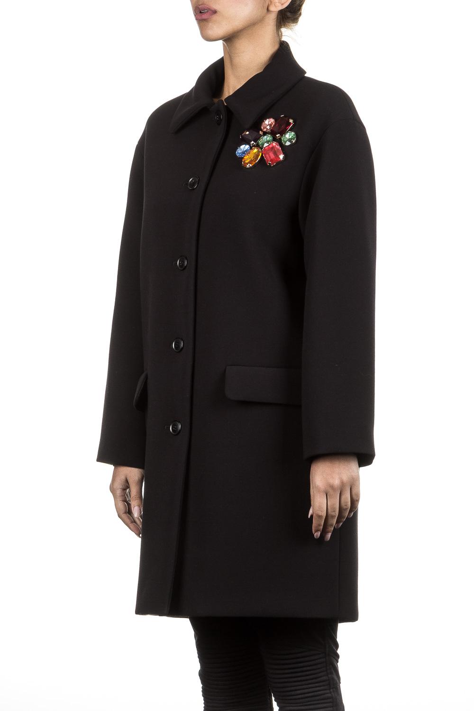 Jacken - BOUTIQUE MOSCHINO Damen Winterjacke schwarz  - Onlineshop Luxury Loft