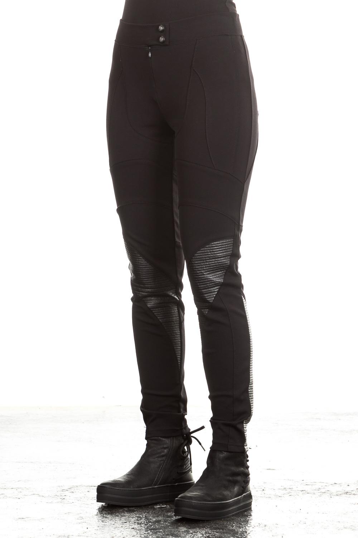 Hosen für Frauen - Pierre Balmain Damen Stretch Hose schwarz  - Onlineshop Luxury Loft