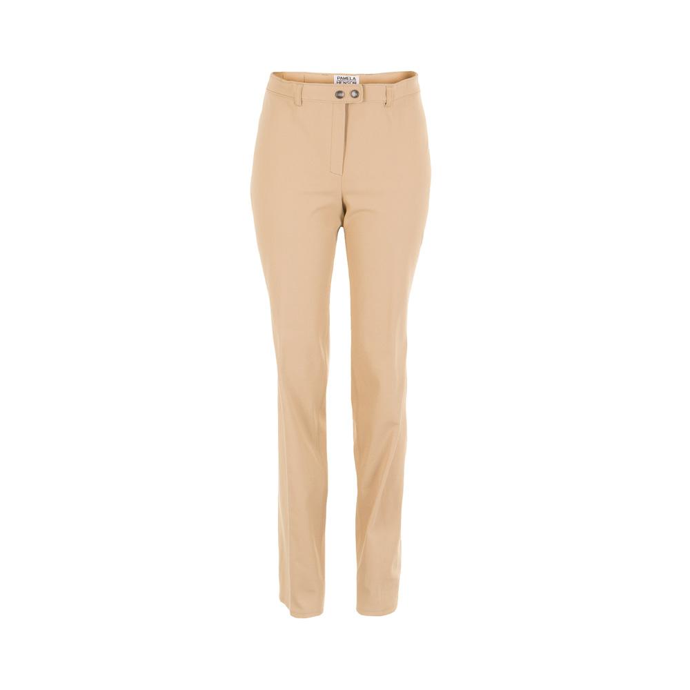 Hosen für Frauen - Pamela Henson Damen Hose 5 beige Gr. 46  - Onlineshop Luxury Loft