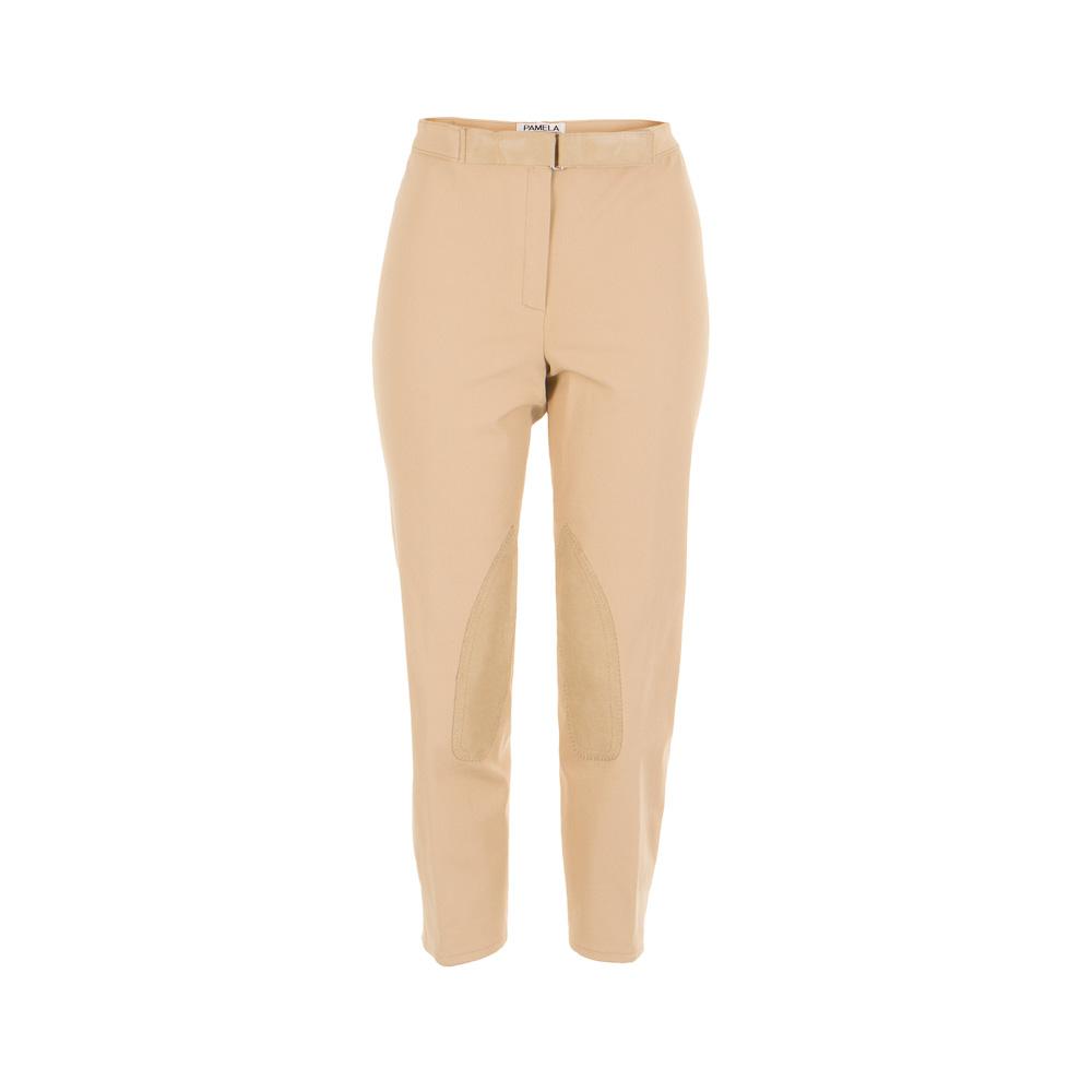 Hosen für Frauen - Pamela Henson Damen 7 8 Hose 4 beige Gr. 46  - Onlineshop Luxury Loft