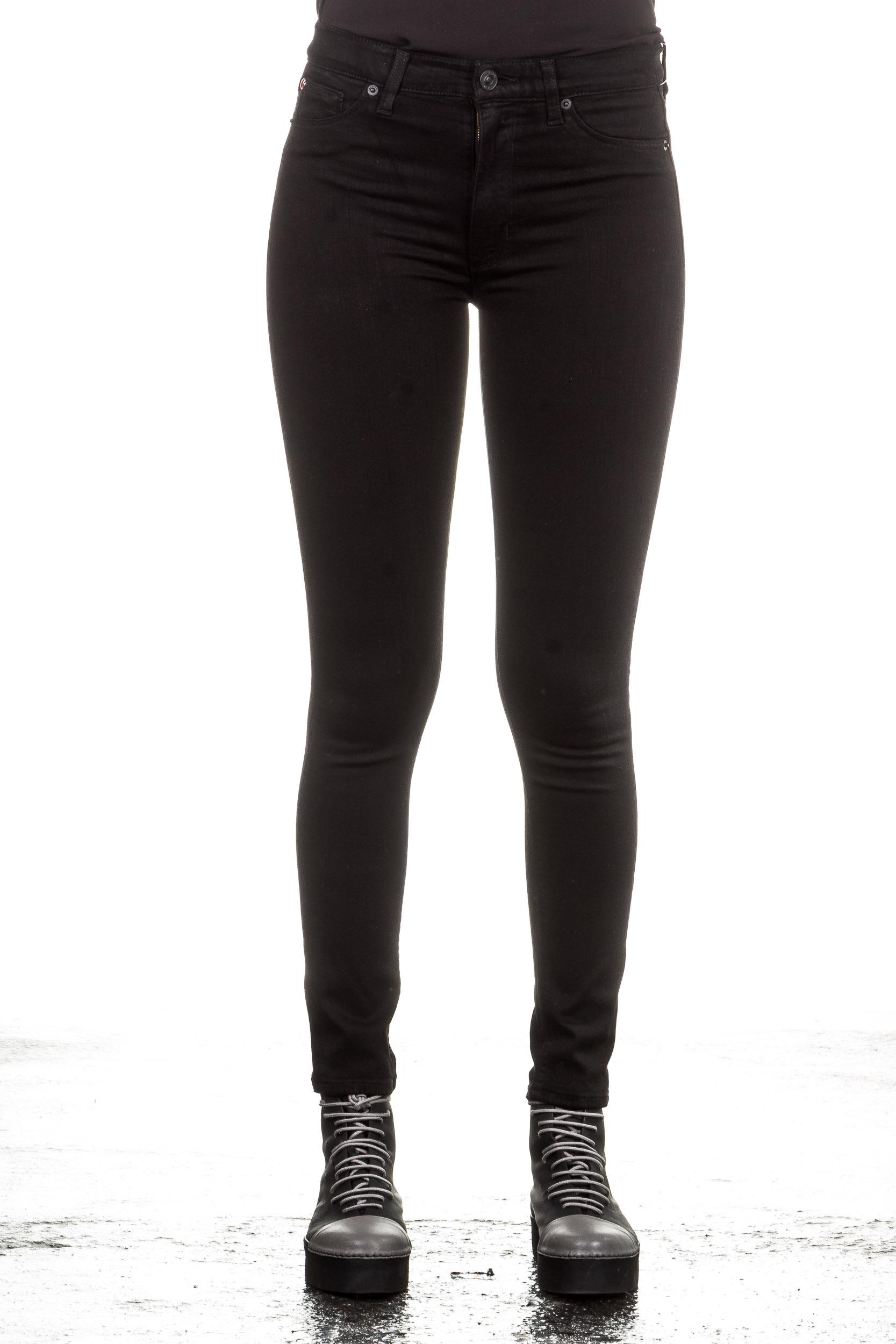 Hosen - Hudson Jeans BABARA Skinny schwarz  - Onlineshop Luxury Loft