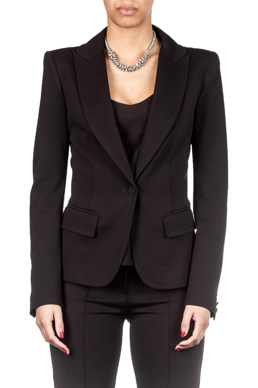 Jacken - Plein Sud Jeanius Damen Blazer schwarz  - Onlineshop Luxury Loft