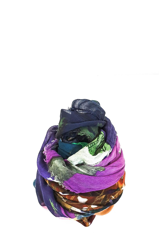 Schals - Faliero Sarti Baumwoll Tuch PAINT multicolor  - Onlineshop Luxury Loft