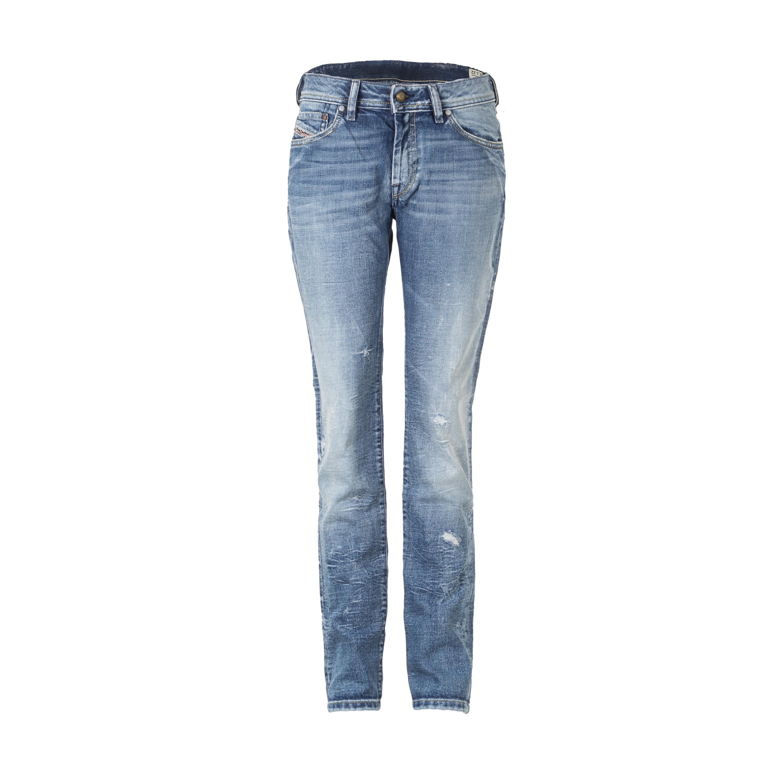 Hosen - Diesel Damen Jeans FLOY blau Länge 32  - Onlineshop Luxury Loft