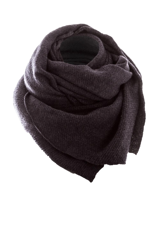 Schals für Frauen - Nebo Strick Merino Schal REMY anthrazit  - Onlineshop Luxury Loft