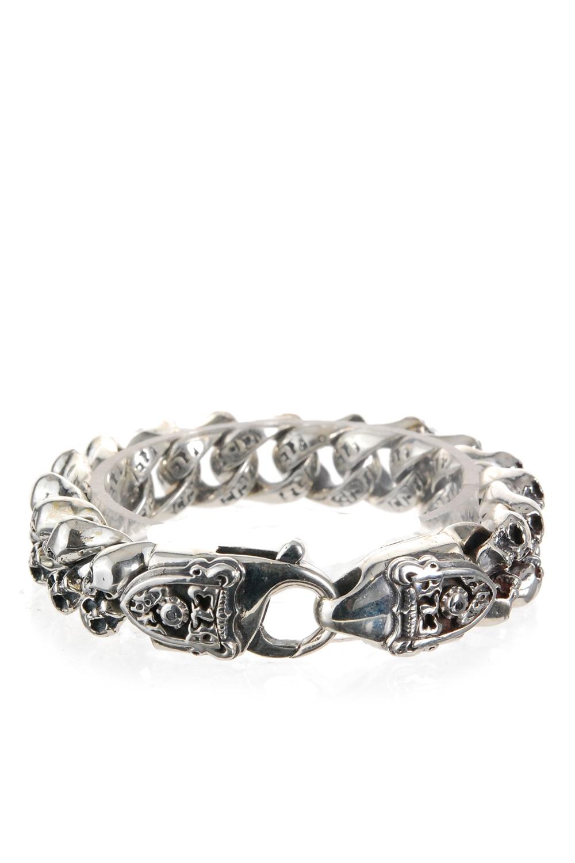 Armbaender für Frauen - Elf Craft Armband Mini Skulls Meteorit silber  - Onlineshop Luxury Loft