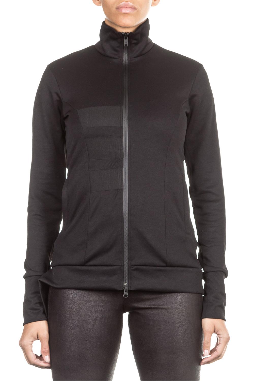 Jacken - Y 3 Damen Sweat Jacke 3S TRACK schwarz  - Onlineshop Luxury Loft