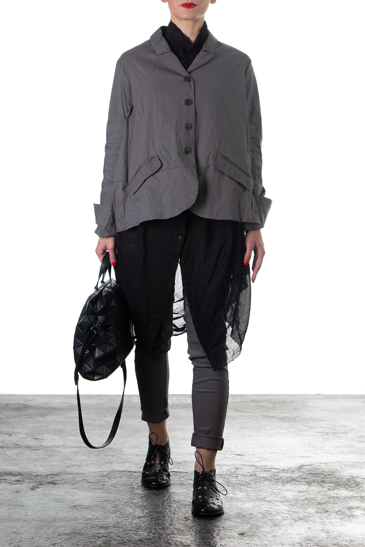 Hosen - Rundholz Damen Hose Skinny grau  - Onlineshop Luxury Loft