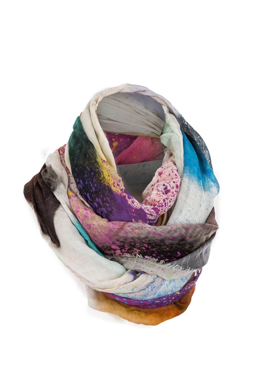 Schals - Faliero Sarti Tuch SPRAY HEART mehrfarbig  - Onlineshop Luxury Loft