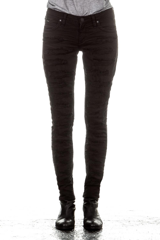 Hosen - Robin's Jean Damen Jeans DISTRESS schwarz  - Onlineshop Luxury Loft