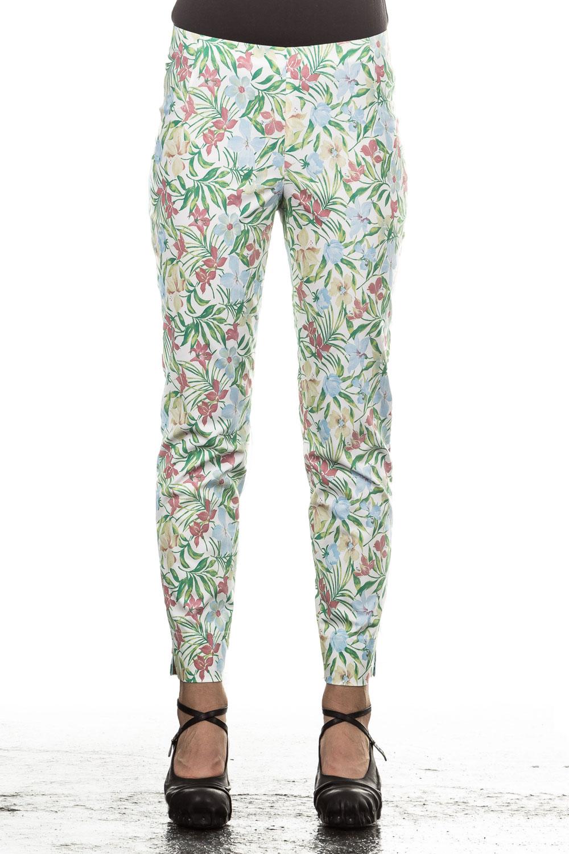 Hosen - Minx Damen Hose MOSES floral gemustert multicolour  - Onlineshop Luxury Loft