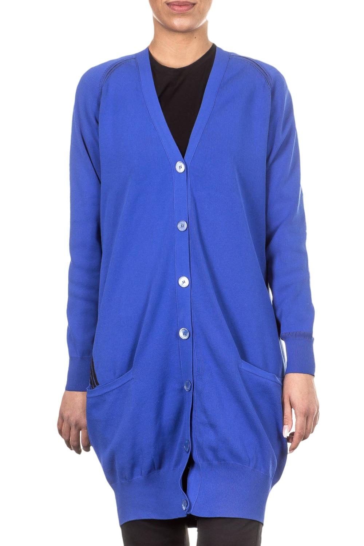 Jacken - Y 3 Damen Cardigan oversized blau  - Onlineshop Luxury Loft