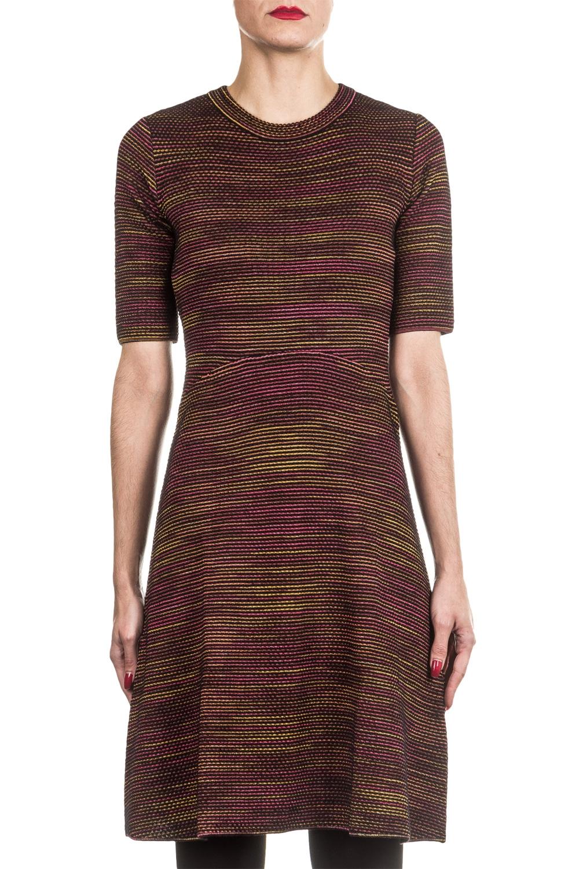 M Missoni Damen Strick Kleid multicolor
