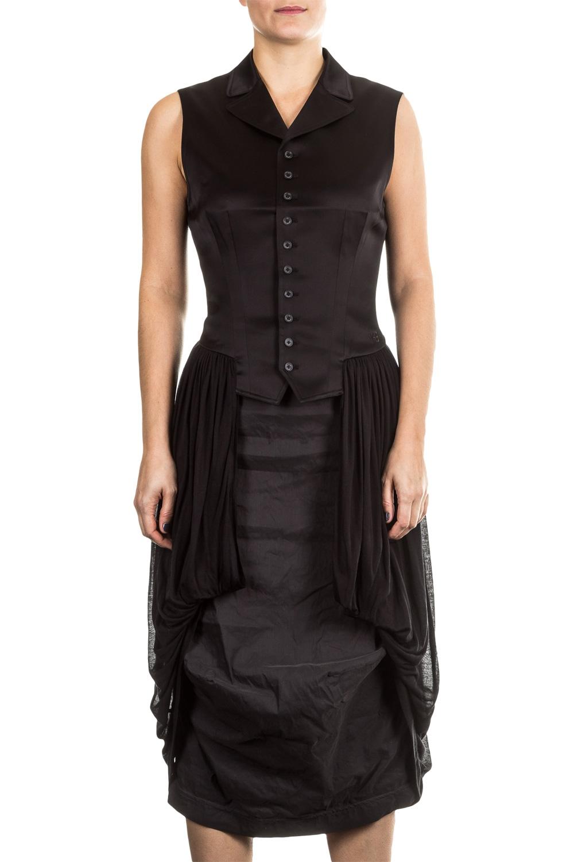 Jacken - Y 3 Damen Gehrock Weste schwarz  - Onlineshop Luxury Loft