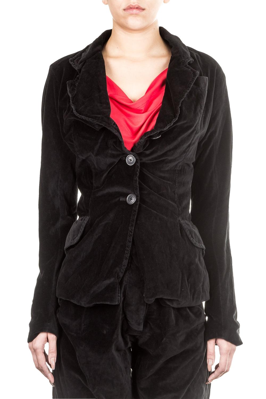 Jacken - Vivienne Westwood Anglomania Damen Samtblazer schwarz  - Onlineshop Luxury Loft