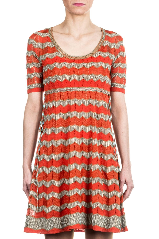 M Missoni Damen Strick Kleid multicolour
