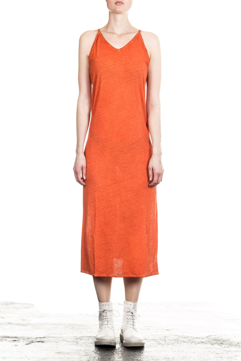 Kleider - Thom Krom Damen Kleid orange  - Onlineshop Luxury Loft
