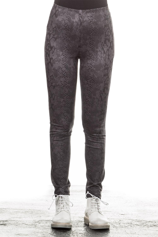 Hosen für Frauen - Janice Jo Leggings Python braun  - Onlineshop Luxury Loft