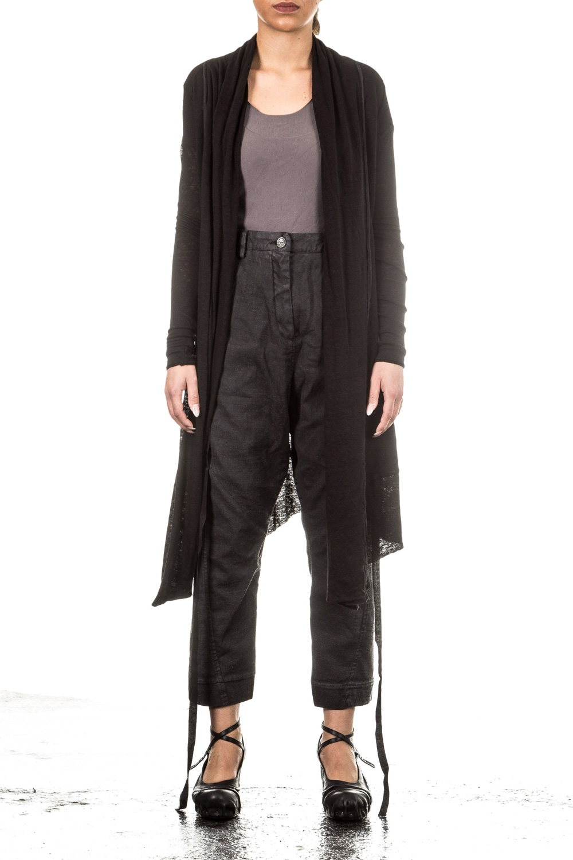 Jacken für Frauen - Preach Leinen Jerseyjacke HARUKO schwarz  - Onlineshop Luxury Loft