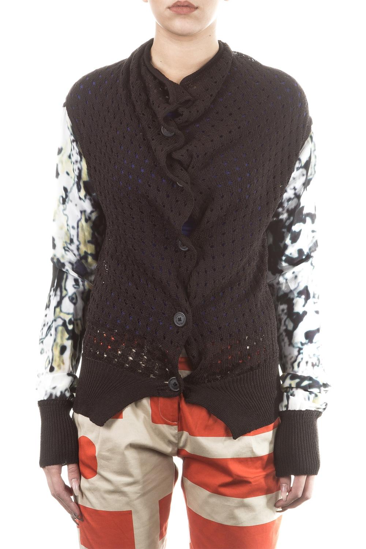 Jacken - Vivienne Westwood Anglomania Damen Cardigan schwarz  - Onlineshop Luxury Loft