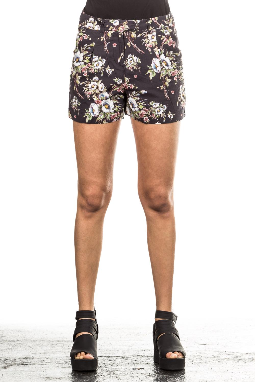 Hosen für Frauen - Hannes Roether Damen Shorts VER21MEER K schwarz  - Onlineshop Luxury Loft