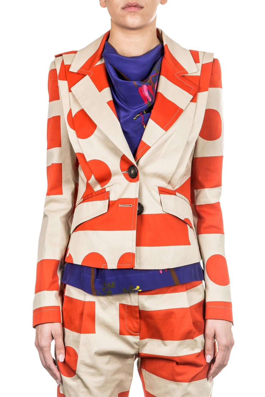 Jacken - Vivienne Westwood Anglomania Damen Blazer beige  - Onlineshop Luxury Loft