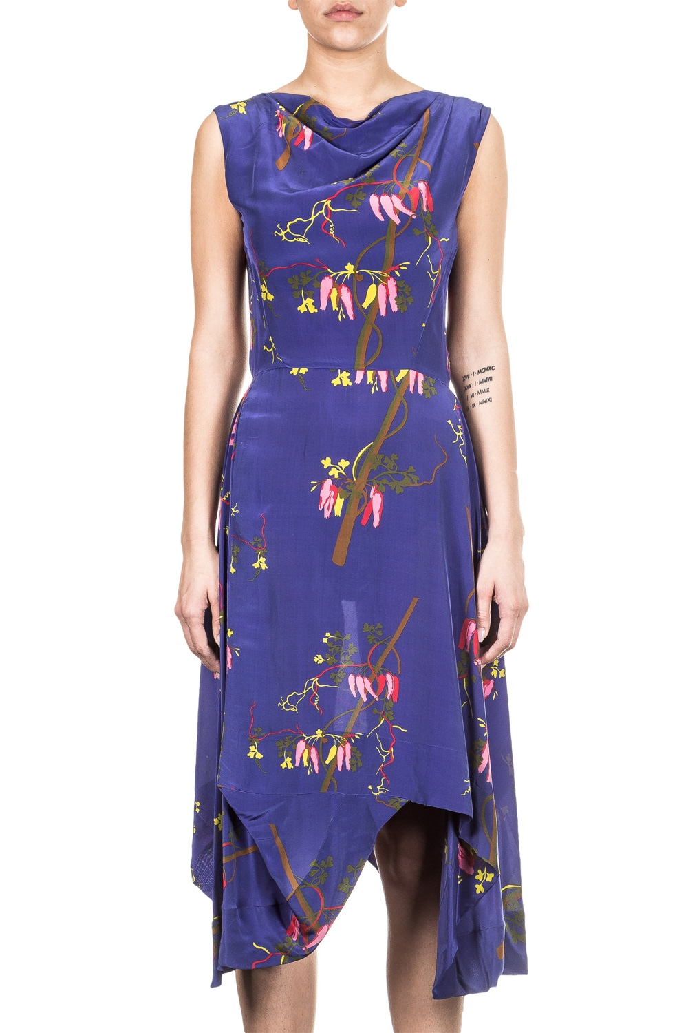 Vivienne Westwood Kleid AZTEK DRESS multicolour