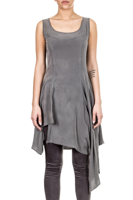 AZIZI Damen Kleid grau
