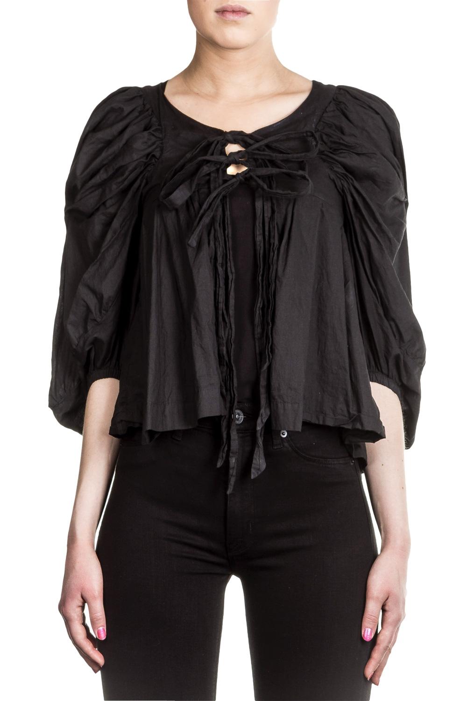 Vivienne Westwood Anglomania Damen Bluse schwarz