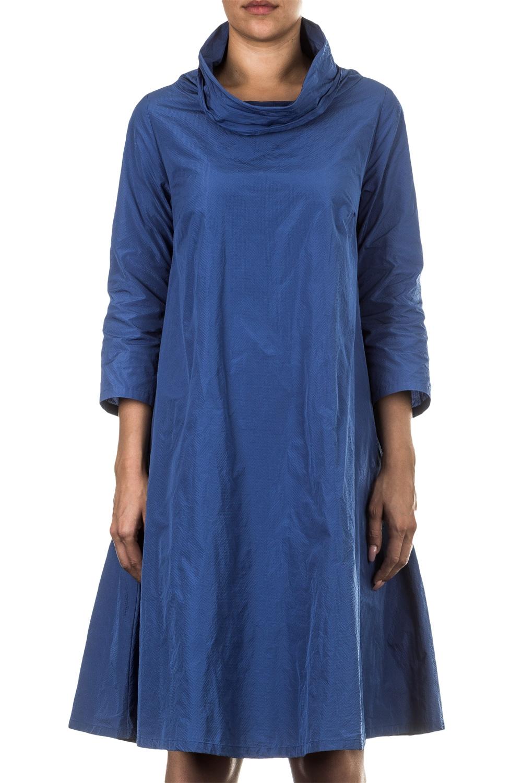 Kleider für Frauen - Katharina Hovman Damen Kleid A Linie azur  - Onlineshop Luxury Loft