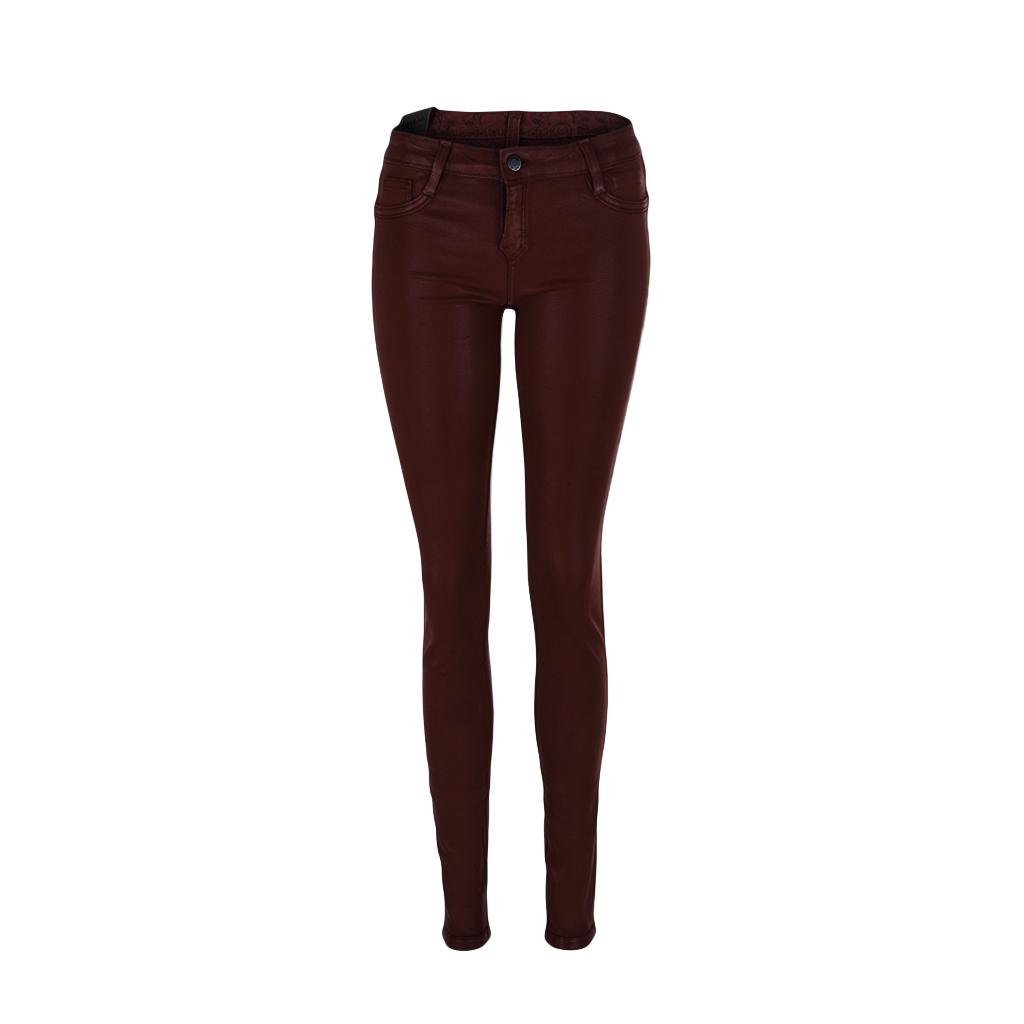 Hosen - BleuLab Reversible Jeans Wendejeans in rot foil venezian red  - Onlineshop Luxury Loft