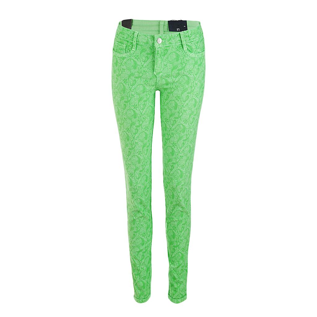 Hosen - BleuLab Reversible Jeans zum Wenden tutti frutti gruen  - Onlineshop Luxury Loft