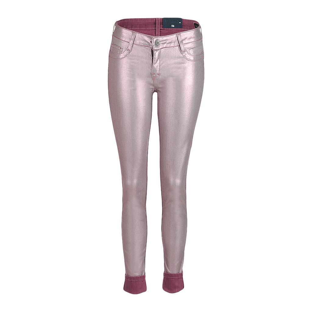 Hosen - BleuLab Damen Wendejeans pink rot  - Onlineshop Luxury Loft
