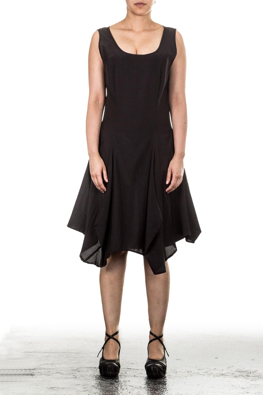 AZIZI Damen Kleid schwarz