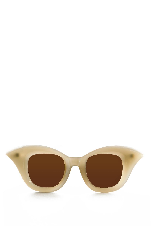 Sonnenbrillen - Kuboraum Sonnenbrille MASK B20 AR camel  - Onlineshop Luxury Loft