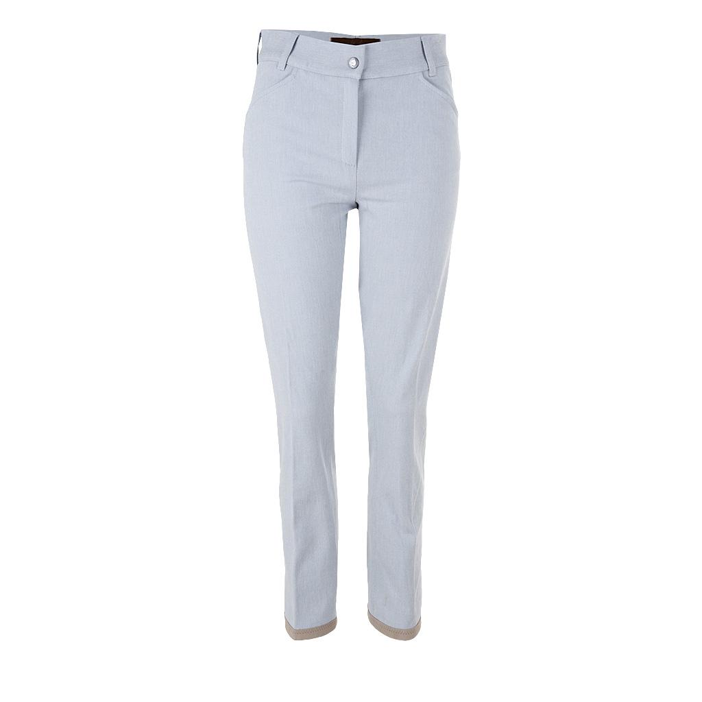 Hosen für Frauen - Pamela Henson Hose RANCH silber grau  - Onlineshop Luxury Loft