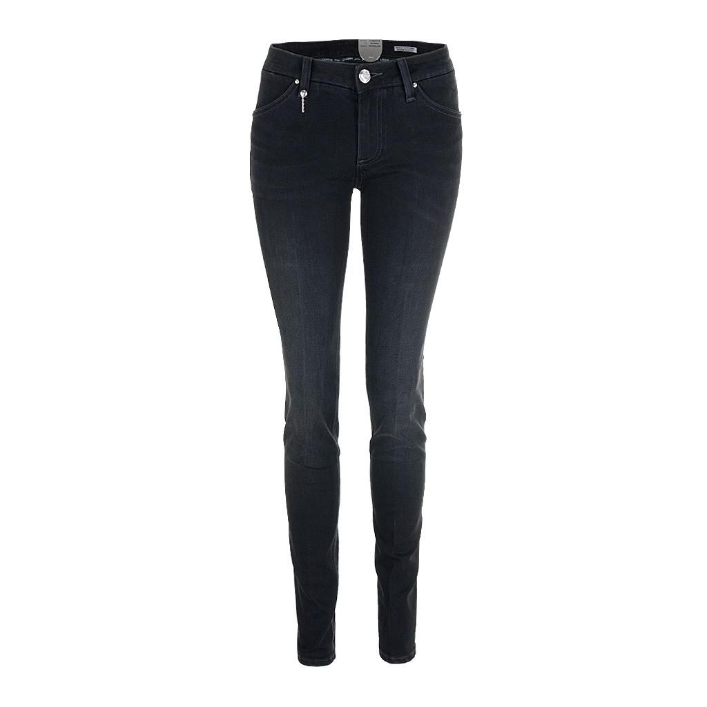 LEROCK Jeans Silverlabel DIAMANTE DS schwarz