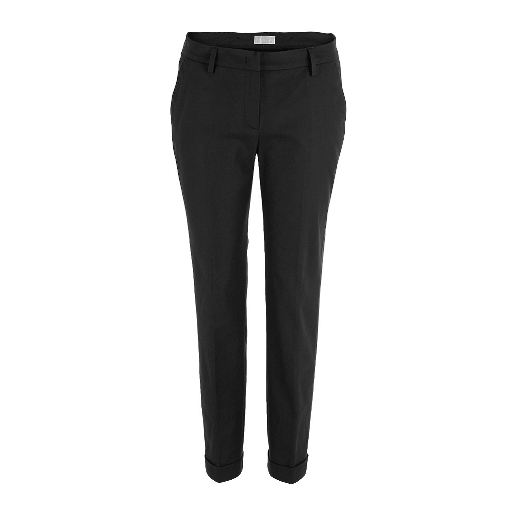 Hosen für Frauen - Pamela Henson Hose DROP schwarz  - Onlineshop Luxury Loft