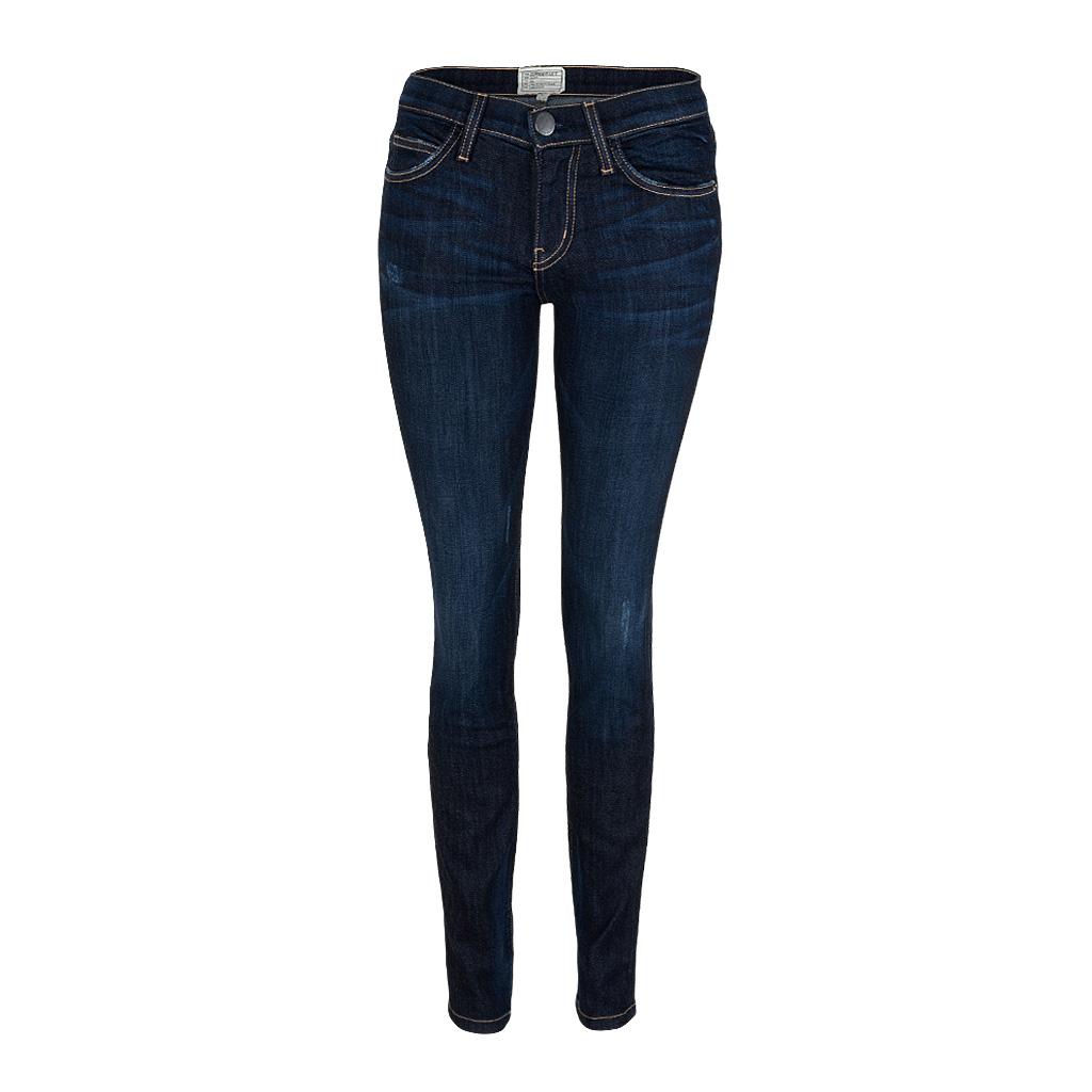 Hosen - Current Elliott THE SKINNY Jeans Richmond blau  - Onlineshop Luxury Loft