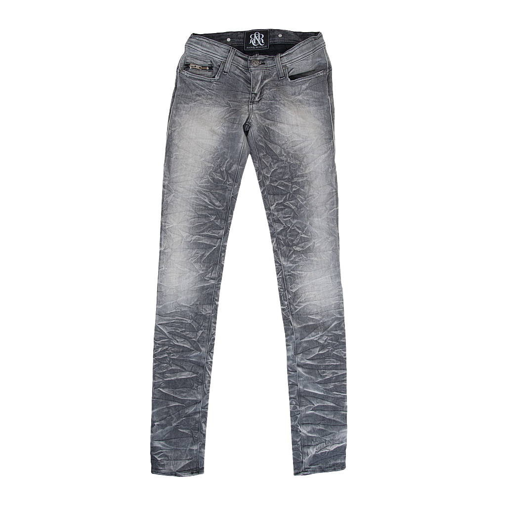 Hosen - Rock Republic Damen Jeans grau  - Onlineshop Luxury Loft