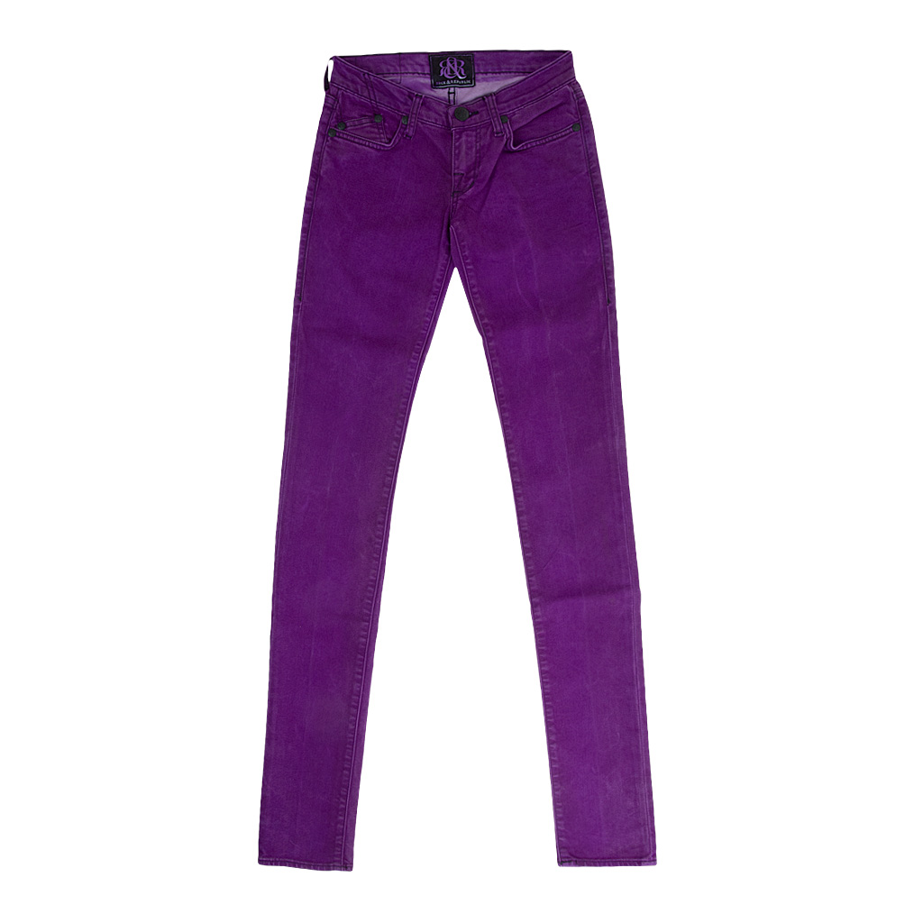 Hosen - Rock Republic Jeans CRAZY BITCH IN POTENT lila Gr. 25  - Onlineshop Luxury Loft