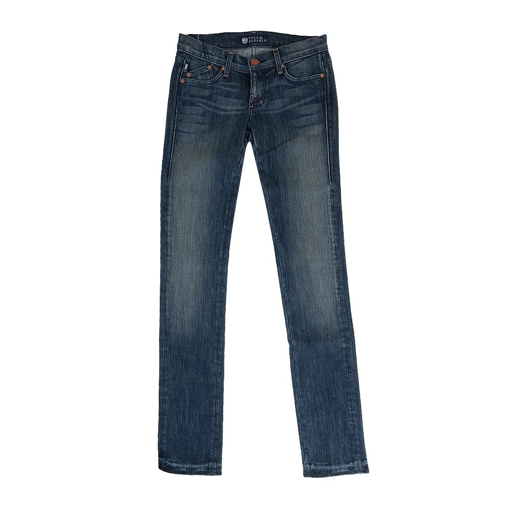 Rock & Republic Jeans CRAZY BITCH IN RUSTIC bla...