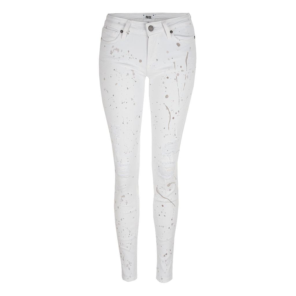 Hosen - Paige Jeans VERDUGO Ultra Skinny BLIZZARD weiss  - Onlineshop Luxury Loft